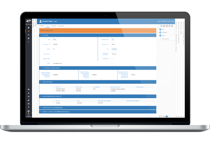 CTMS Clinical Trial Management software