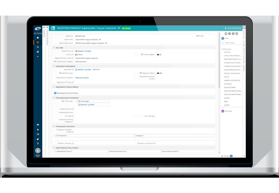 régulatory information management software